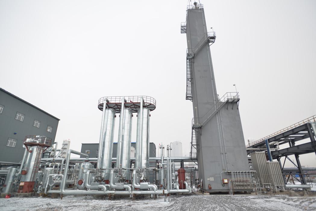 醇焦炉煤气脱碳装置